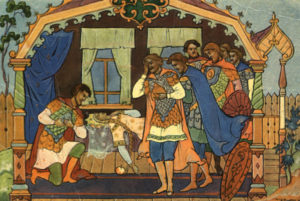Анализ «Сказки о мёртвой царевне и семи богатырях» Пушкина