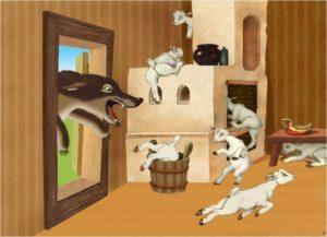 Анализ сказки Волк и семеро козлят