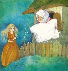 Бабушка Метелица сказка