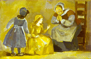 Бабушка Метелица