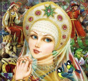 Василиса Прекрасная - русская народная сказка