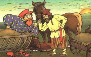 Как барин жеребенка высиживал