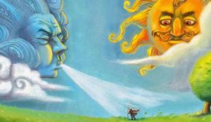 Константин Ушинский — Ветер и солнце