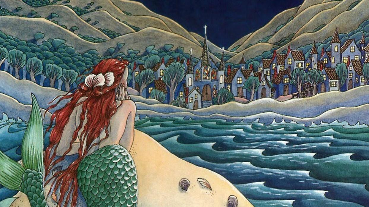 Картинки из сказок русалочка