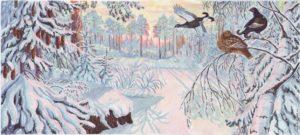 Михаил Пришвин — Птицы под снегом