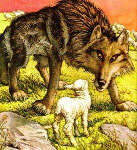 Мораль басни Волк и Ягненок