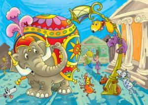 Мораль басни Слон и Моська