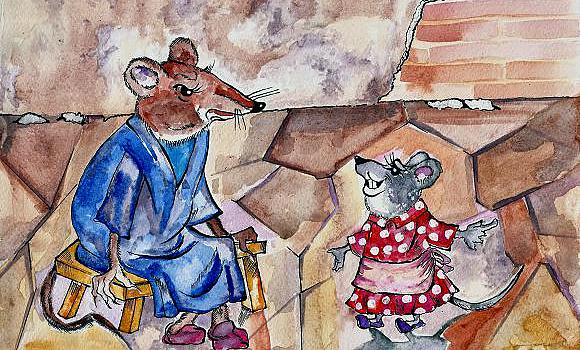 небе картинка к басне мышь и крыса остаюсь тем, кем