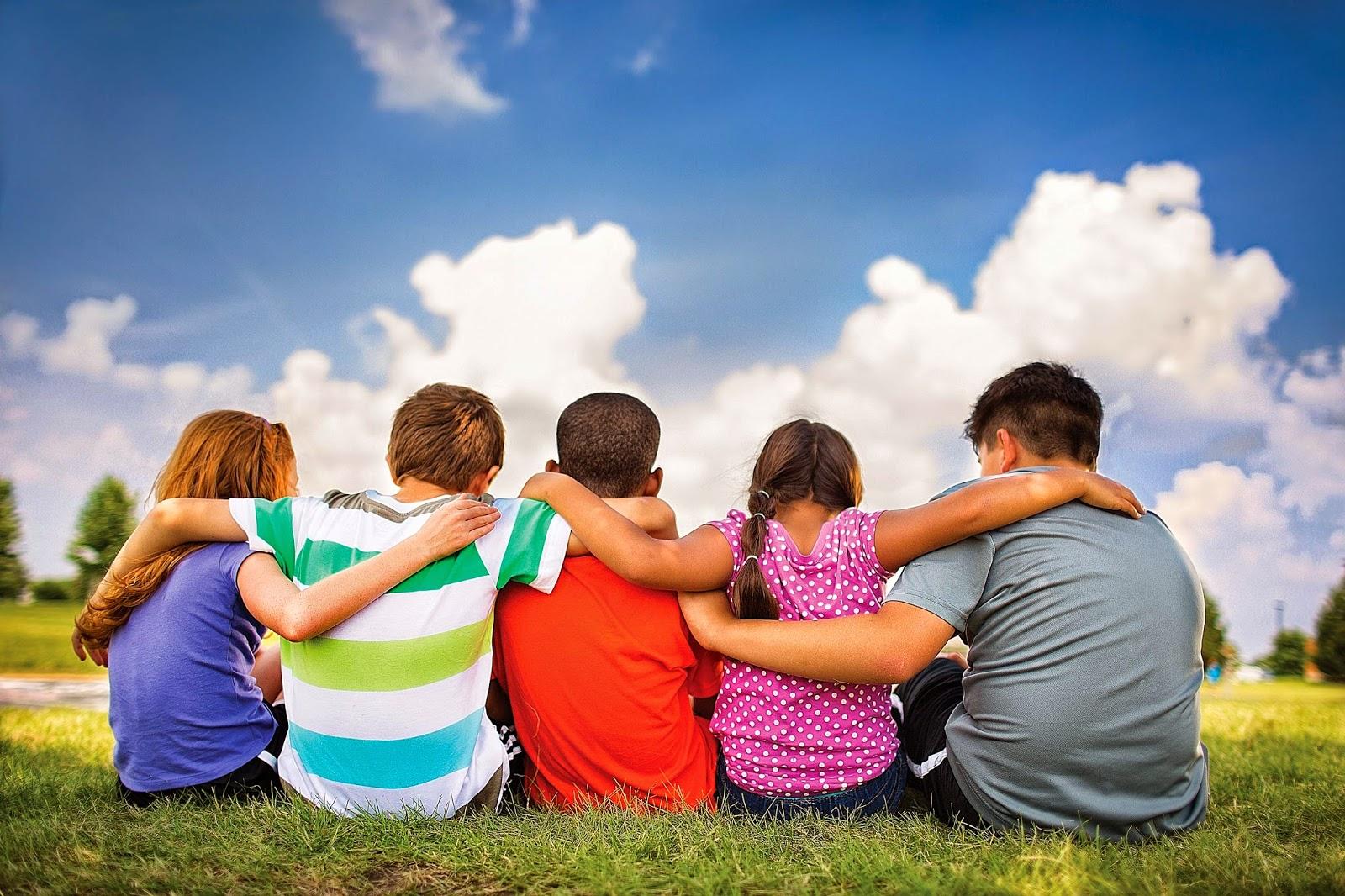 что позитивная картинка о дружбе тоже можешь принять