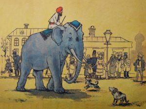 Слон и моська басня Крылова