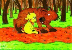 """Содержание.""""Волк и Ягненок"""""""