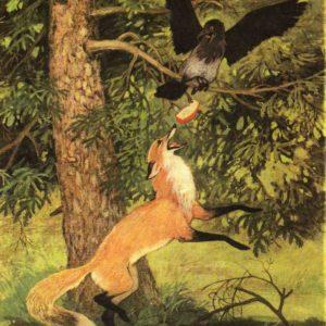Характерные особенности басни «Ворона и Лисица» И.А.Крылова