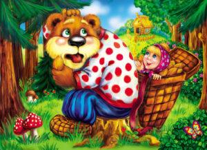Маша и медведь сказка